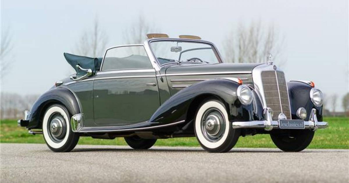 For sale mercedes benz 220 cabriolet a 1953 offered for for 1953 mercedes benz 220 sedan for sale