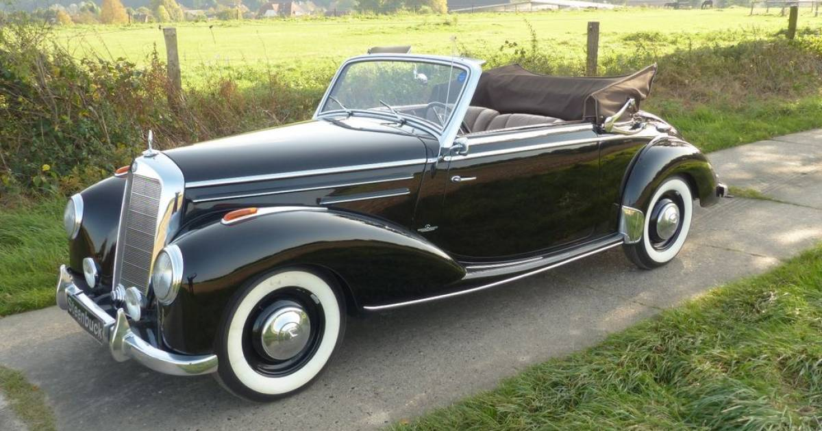 mercedes benz 220 cabriolet a 1952 kaufen classic trader. Black Bedroom Furniture Sets. Home Design Ideas
