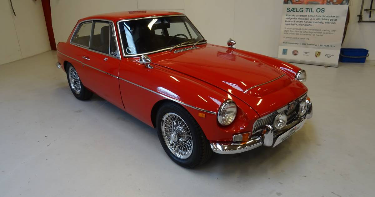 For Sale: MG MGC GT (1969) offered for GBP 26,890