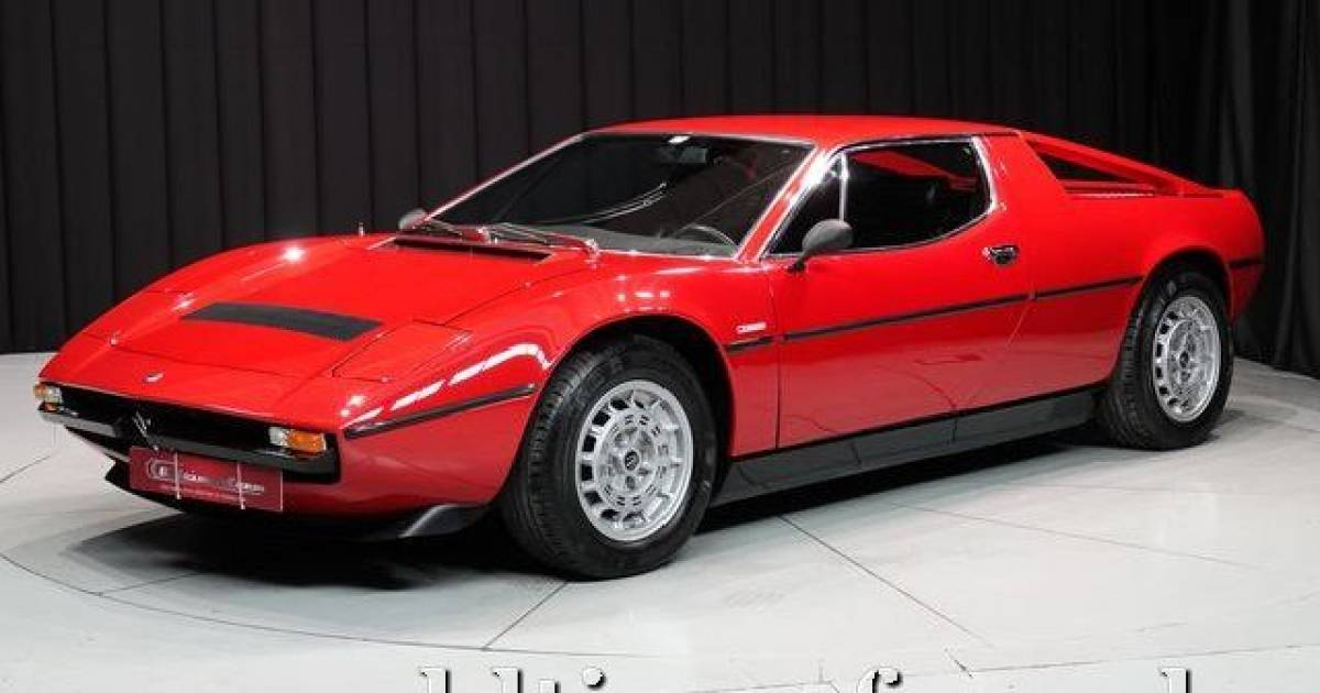 maserati merak ss 1977 en vente pour 99 950 eur. Black Bedroom Furniture Sets. Home Design Ideas